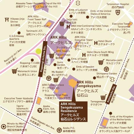 アークヒルズ仙石山レジデンス 15階 3LDK 1,425,900円〜1,514,100円の写真26-slider