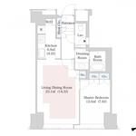 セントラルパークタワー・ラ・トゥール新宿 32階 1LDK 360,000円の写真1-thumbnail