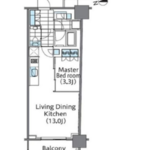 コンフォリア新宿イーストサイドタワー 9階 1LDK 225,040円〜238,960円の写真1-thumbnail