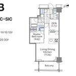 コンフォリア新宿イーストサイドタワー 24階 1LDK 343,380円〜364,620円の写真1-thumbnail