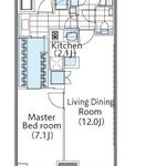 コンフォリア新宿イーストサイドタワー 16階 1LDK 319,000円の写真1-thumbnail