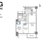 コンフォリア新宿イーストサイドタワー 2階 2LDK 423,890円〜450,110円の写真1-thumbnail
