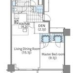 コンフォリア新宿イーストサイドタワー 5階 1LDK 397,700円〜422,300円の写真1-thumbnail