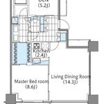 コンフォリア新宿イーストサイドタワー 16階 1LDK 427,000円の写真1-thumbnail