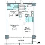 コンフォリア新宿イーストサイドタワー 24階 1LDK 462,000円の写真2-thumbnail