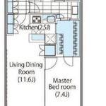 コンフォリア新宿イーストサイドタワー 22階 1LDK 341,000円の写真1-thumbnail