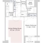 セントラルパークタワー・ラ・トゥール新宿 26階 1LDK 344,350円〜365,650円の写真1-thumbnail