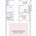 セントラルパークタワー・ラ・トゥール新宿 36階 1R 318,000円の写真1-thumbnail