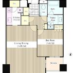セントラルパークタワー・ラ・トゥール新宿 26階 1LDK 419,000円の写真1-thumbnail