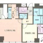 サイオンさくら坂 7階 1LDK 385,000円の写真1-thumbnail