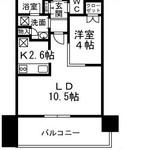 ザ六本木東京クラブレジデンス 12階 1LDK 275,000円の写真1-thumbnail