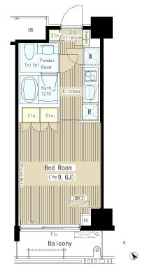 六本木エムケーアートレジデンス 3階 1K 155,200円〜164,800円の写真1-slider