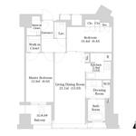 セントラルパークタワー・ラ・トゥール新宿 25階 2LDK 445,000円の写真1-thumbnail