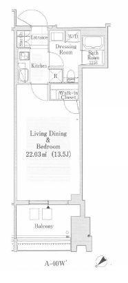 ラ・トゥール新宿ガーデン 30階 1K 232,800円〜247,200円の写真1-slider