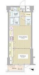 神楽坂南町ハウス 3階 1DK 155,200円〜164,800円の写真1-slider