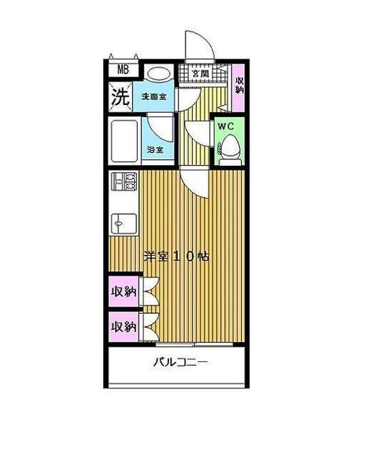 セントラルパークタワー・ラ・トゥール新宿 10階 1R 200,000円の写真1-slider