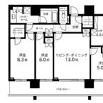 ザ六本木東京クラブレジデンス 27階 3LDK 611,100円〜648,900円の写真1-thumbnail
