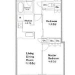 富久クロスコンフォートタワー 48階 2LDK 420,000円の写真1-thumbnail
