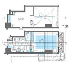 ズーム神宮前 1階 1K 269,000円の写真2-slider