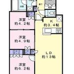 富久クロスコンフォートタワー 42階 3LDK 339,500円〜360,500円の写真2-thumbnail