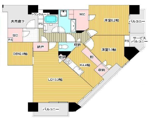 ブリリア・ザ・タワー東京八重洲アベニュー 17階 2LDK 350,000円の写真1-slider