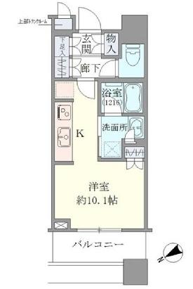 ブリリアタワーズ目黒 S-6階 1R 233,000円の写真1-slider