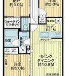 浅草タワー 21階 2SLDK 230,000円の写真1-thumbnail