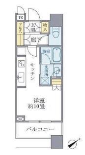 ブリリアタワーズ目黒 サウスレジデンス 11階 1R 175,000円の写真1-slider