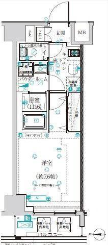 アルテシモ レフィナ 2階 1K 125,500円の写真1-slider
