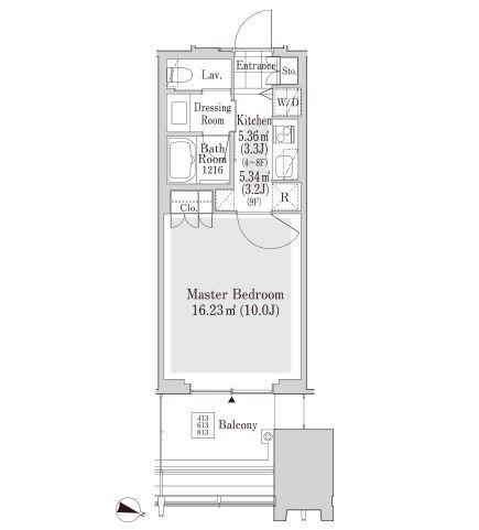 ラ・トゥール新宿アネックス 9階 1K 178,000円の写真1-slider