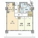 パークコート神宮前 F-5階 2LDK 354,050円〜375,950円の写真1-thumbnail