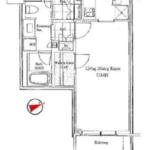 パークコート赤坂ザ・タワー 8階 1K 223,100円〜236,900円の写真1-thumbnail