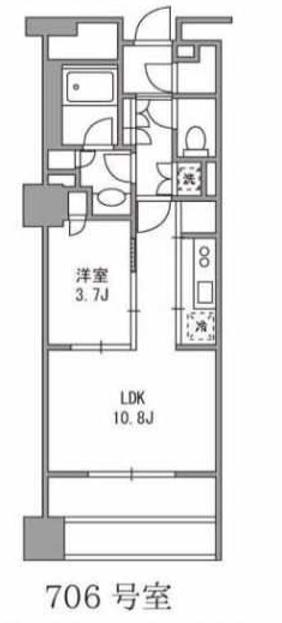 パークコート神宮前 7階 1LDK 213,400円〜226,600円の写真1-slider