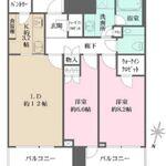 赤坂タワーレジデンス トップオブザヒル 34階 2LDK 500,000円の写真1-thumbnail