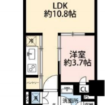 パークコート神宮前 A-5階 1LDK 218,250円〜231,750円の写真1-thumbnail