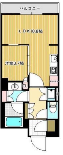パークコート神宮前 9階 1LDK 225,000円の写真1-slider