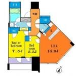 パークコート渋谷ザ・タワー 16階 2LDK 630,000円の写真1-thumbnail