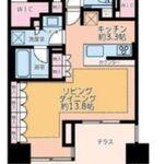 ザ・パークハウス山吹神楽坂 1階 2LDK 310,000円の写真1-thumbnail