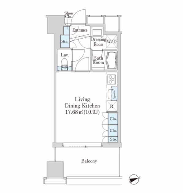 セントラルパークタワー・ラ・トゥール新宿 14階 1R 184,300円〜195,700円の写真1-slider