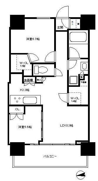 浅草タワー 31階 2LDK 227,950円〜242,050円の写真1-slider