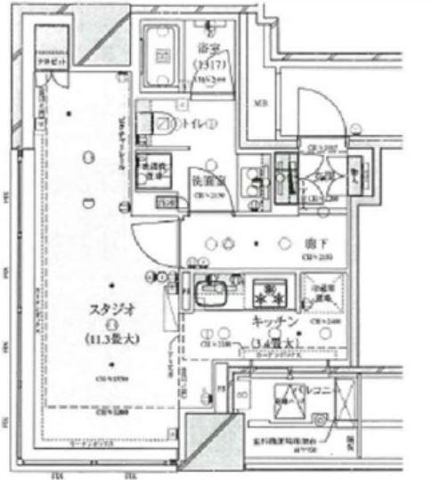 クロスエアタワー 5階 1K 190,000円の写真1-slider