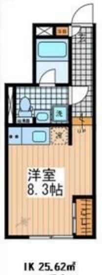 MDM白金台 B1階 1R 118,000円の写真1-slider