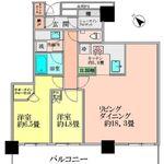 ブリリア・ザ・タワー東京八重洲アベニュー 20階 2LDK 395,000円の写真1-thumbnail