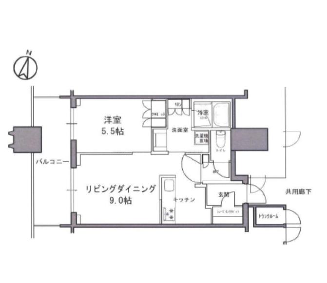 パークコート文京小石川ザ・タワー 25階 1LDK 254,000円の写真1-slider