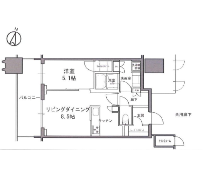 パークコート文京小石川ザ・タワー 26階 1LDK 250,260円〜265,740円の写真1-slider