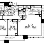 ブリリアタワーズ目黒 S-32階 2LDK 669,300円〜710,700円の写真1-thumbnail