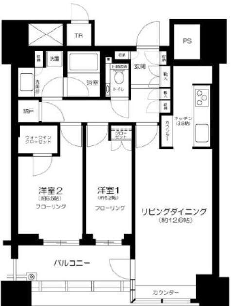 パークコート文京小石川ザ・タワー 14階 2LDK 394,790円〜419,210円の写真1-slider