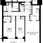 パークコート文京小石川ザ・タワー 14階 2LDK 394,790円〜419,210円の写真1-thumbnail