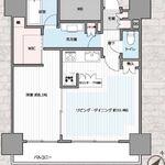 カテリーナ三田タワースイート ウエストアーク 4階 1LDK 229,000円の写真1-thumbnail