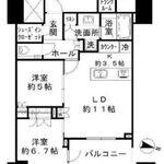 パークコート文京小石川ザ・タワー 31階 2LDK 398,000円の写真1-thumbnail